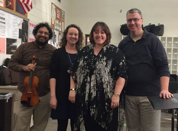 The Jenison Orchestra Dream Team!